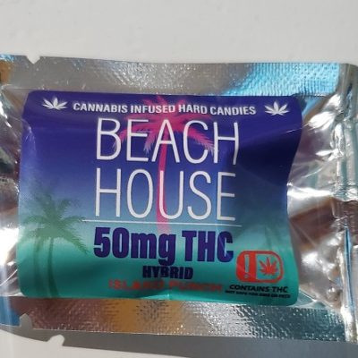 Beach House Hard Candy 50mg THC Lozenge