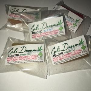 Cali Dreams Hard Candy 50mg THC Lozenge