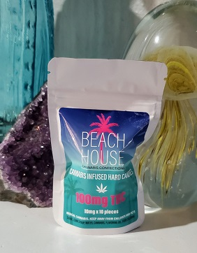 Beach House Hard Candy Cube 100mg