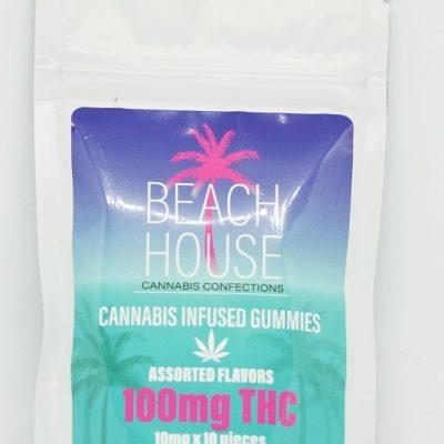 Beach House Gummy Assorted Flavors 100mg
