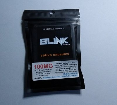 Blink Capsules Sativa 100mg