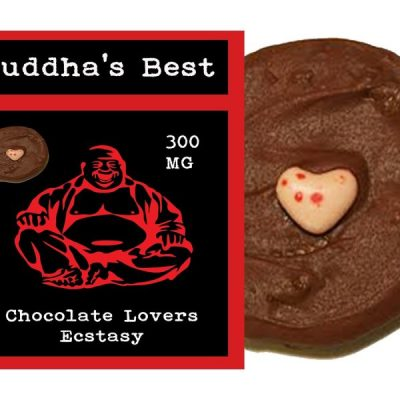 Budda's Best Chocolate Lover's Cookie 300mg
