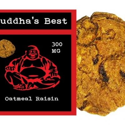 Budda's Best Oatmeal Raisin Cookie 300mg (Stevia)