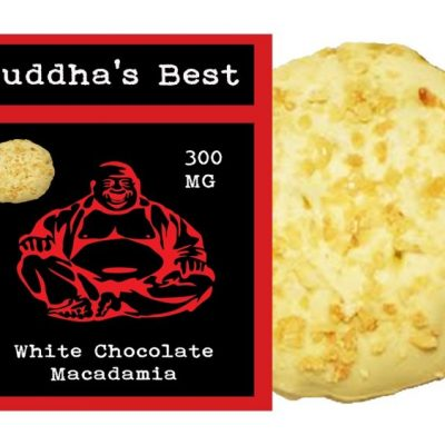 Budda's Best White Chocolate Macadamia Nut 300mg