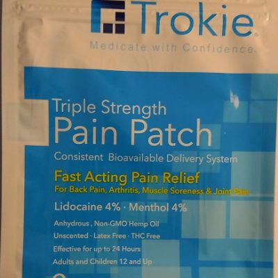 Trokie Triple Strength Pain Patch