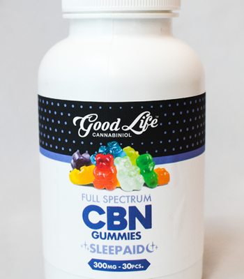 The Good Life CBN Gummies Sleep Aid 300mg