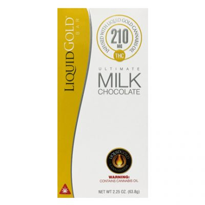 Liquid Gold Milk Chocolate Bar