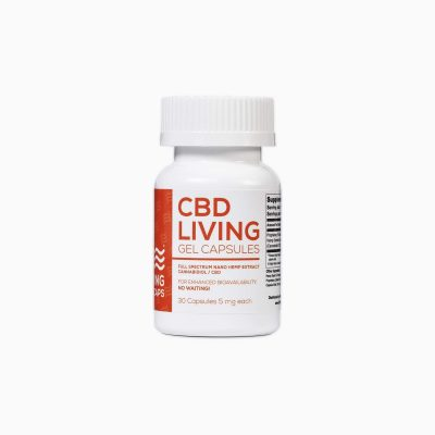 CBD Living Gel Capsules 5mg