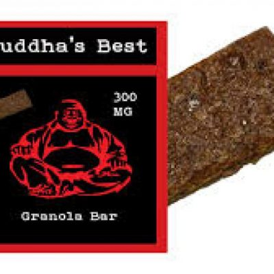 Budda's Best Granola Bar 300mg