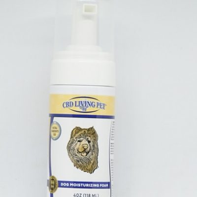 CBD Living Dog Moisturizing Foam