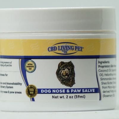 CBD Living Dog Nose and Paw Salve