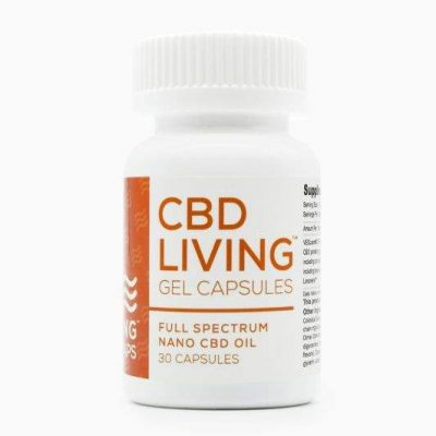 CBD Living Gel Capsules 25mg