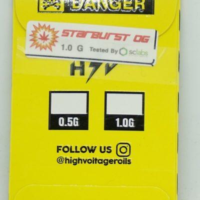 High Voltage Resin Starburst OG
