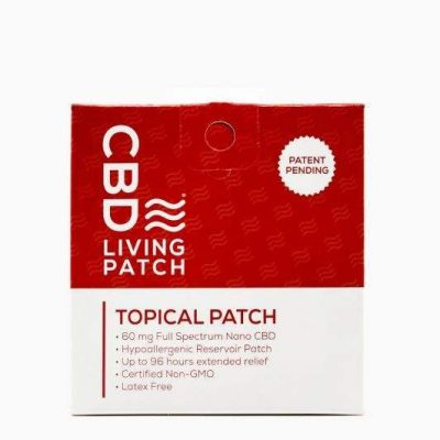 CBD Living Topical Patch 60mg
