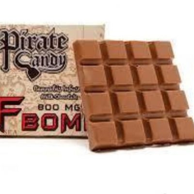 Pirate Candy F-bomb 800mg Milk Chocolate