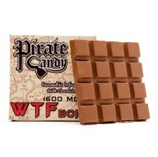 Pirate Candy WTF Bomb 1600mg Milk Chocolate