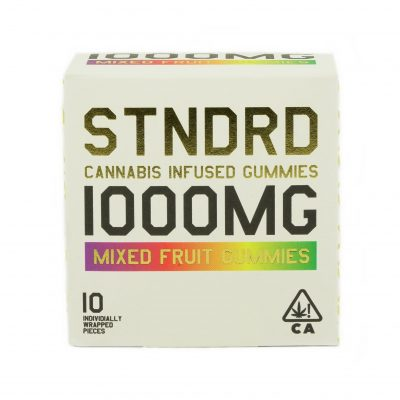 Stndrd Gummy 1000mg Indica Mixed Fruit