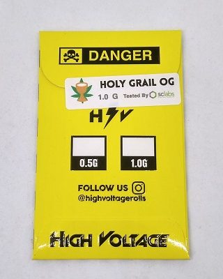 High Voltage Resin Holy Grail OG