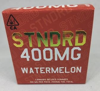 Stndrd Gummy 400mg Sativa Watermelon